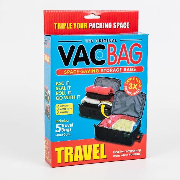 真空圧縮袋 旅行用