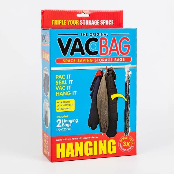 真空圧縮袋 ハンガー式